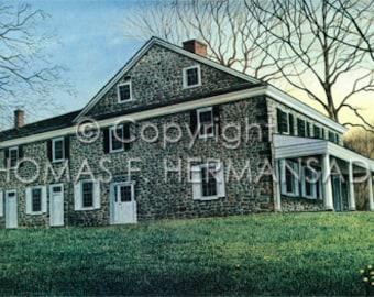 Haldeman Mansion 'NUMBERED/SIGNED PRINT'  by Tom F. Hermansader (www.hermansadersartgallery.com)