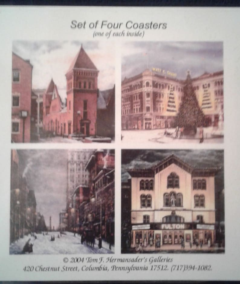 Lancaster PA  Coasters 4  Central Market Fulton Opera image 1