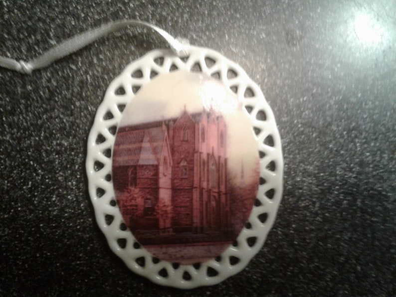 St. Mary's Catholic Church Ornament by noted Artist and image 0