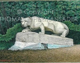 Nittany Lion Artist Proof print