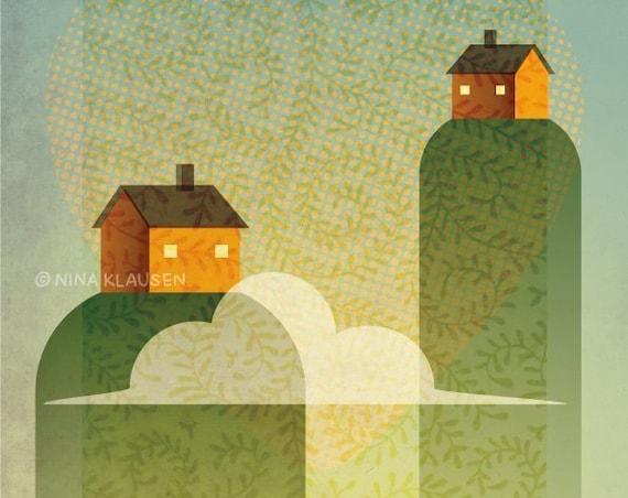 Neighbors - A4 printable art - New home wall decor - P0003