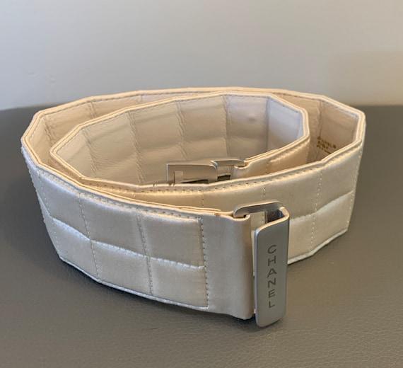 Chanel vintage Satin belt