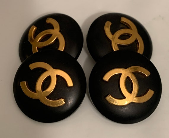 Boutons manchettes Chanel vintage