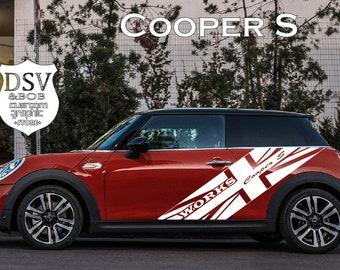Mini Cooper Decal Etsy