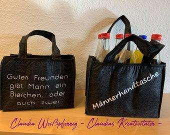 Men's handbag - beverage bag