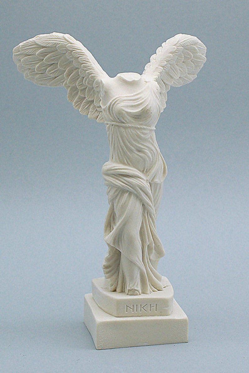 935a74a73529a 16cm Nike Winged Victory of Samothrace Goddess Statue in Greek Ancient and  Roman Mythology Hand Made Marble Cast Sculpture