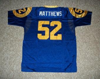 half off 8f239 3e01a Rams jersey | Etsy