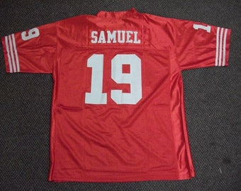 d6e68949abc DEEBO SAMUEL San Francisco 49ers Unsigned Custom Red Sewn New Football  Jersey Size S, M,L,XL,2XL,3XL