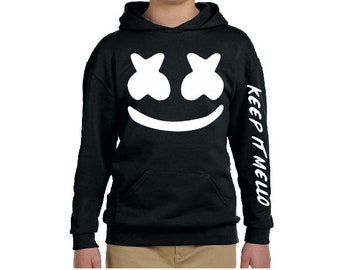 ebe4a5d93 MARSHMELLO Youth and Adults Hoodie