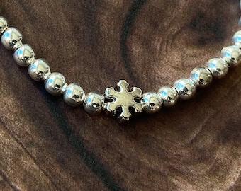 Bracelet Snowflake Silver