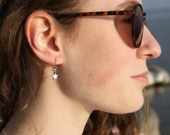 Earrings Star . silver (2 pcs./1 pair)