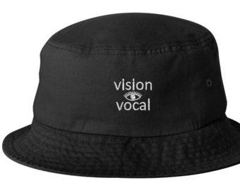 7c73fa69 Black bucket hat   Etsy