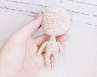 SALE Handmade doll hand crochet amigurumi doll ... - Folksy | 270x340