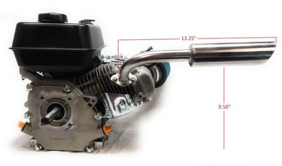 Engine Header Exhaust Pipe For: Go Karts Predator 212cc, Honda GX160,  GX200