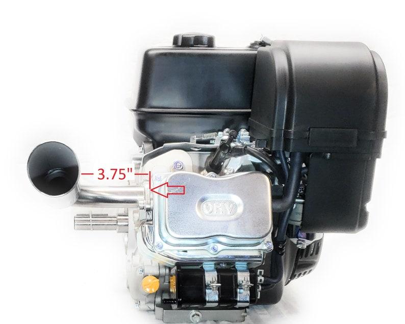 Header Exhaust Pipe for Go Kart Predator 301cc /& 420cc GX Hondas