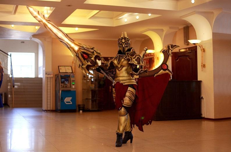Legion Commander cosplay costume Dota 2 in Daemonfell ...