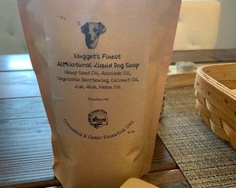 Liquid Dog Shampoo / Pup Soap / Dog Shampoo
