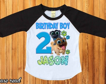 Puppy Dog Pals Birthday Shirtpersonalized Shirtpuppy Palsbirthday Party Shirtfirst Birthdaybirthday Boy ShirtH 32
