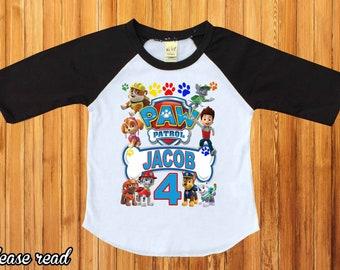 a8c0987f4 Paw patrol shirt