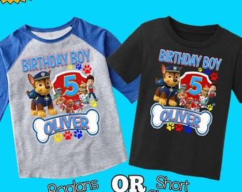 9a37526dd Paw patrol birthday shirt,paw patrol shirt,custom paw patrol shirt,  birthday boy paw patrol,paw patrol party, personalized paw patrol,H-28