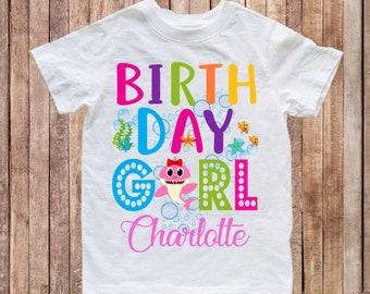c1392aa64 Baby Shark birthday shirt, birthday baby shark shirt, first birthday baby  shirt, baby shark doo doo doo shirt, birthday shirt sharks H128