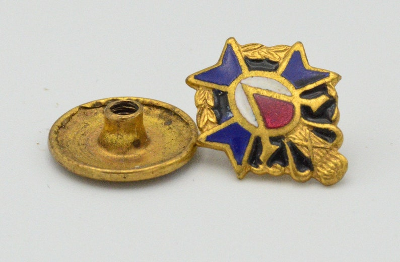 Antique Gold Filled Victory Pin