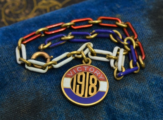 An Enameled Victory Bracelet from 1918
