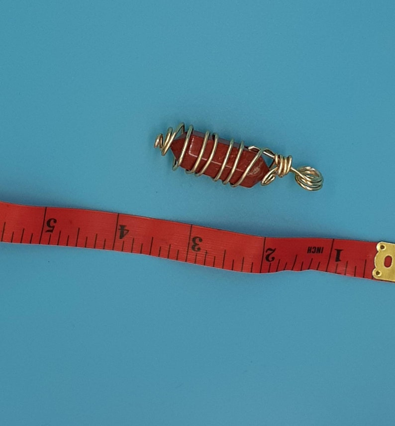 Red Jasper Pendant Necklaces