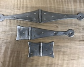 Large Flat Mount Full Strap, Half Strap and Butterfly Hinges