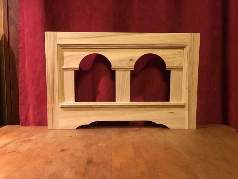 Double Pane Unfinished Colonial Style Picture Frame great for Tole or One Stroke Art