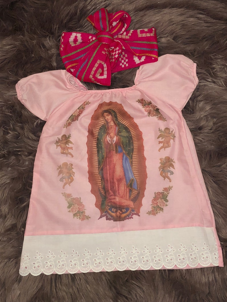 fff88cf232 Virgen Guadalupe Mexican dress Virgen María Virgin Mary