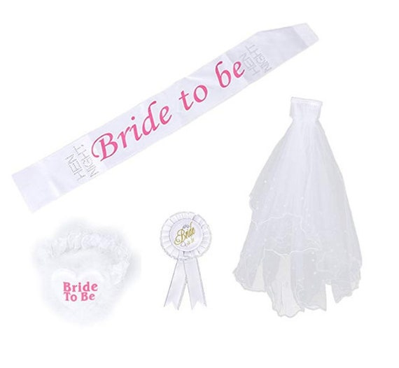 Willy Glitter COMB /& VEIL Bride to Be Hen Night Party Accessory Gift