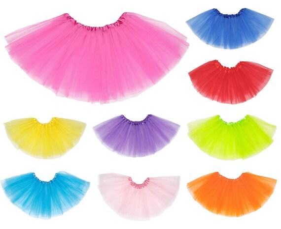 My Choice Stuff Girls Children Fancy Dress Party Wear 2 Layer Petticoat Christmas Tu Tu Skirt