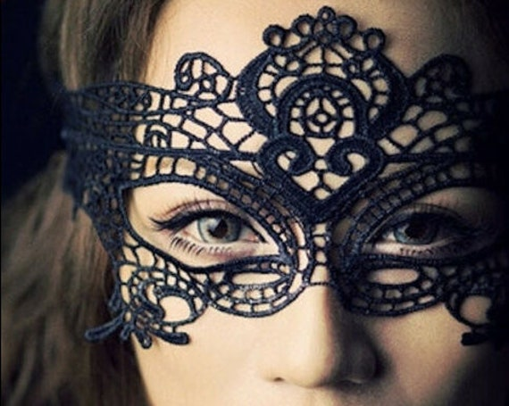 Lace Masquerade Ball Venetian Mask Valentines Party Fancy Dress