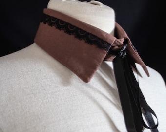 Collar as necklace