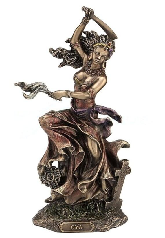 Resultado de imagen de oyá goddess statue