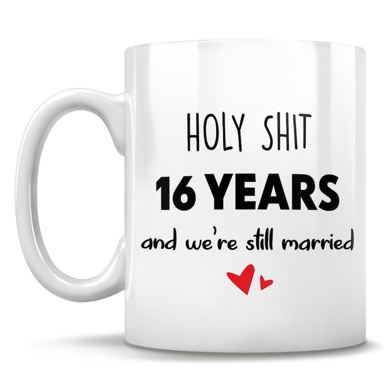 16th Anniversary 16th Anniversary Gift 16 Anniversary 16th ...