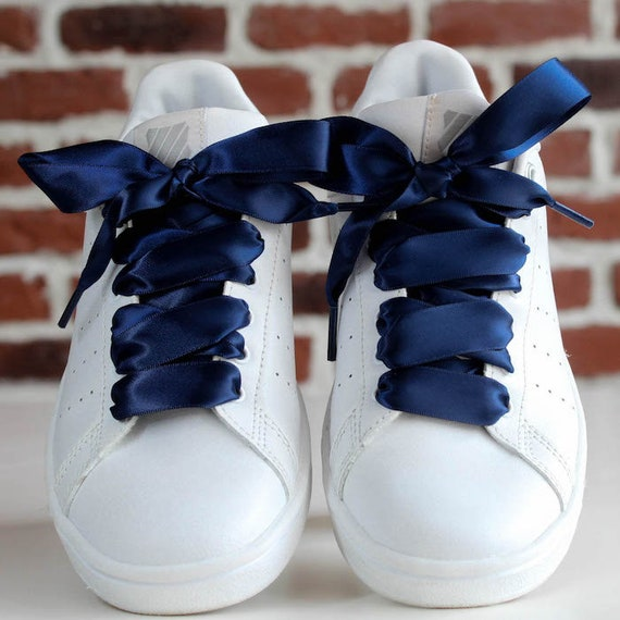 sneakers with satin laces