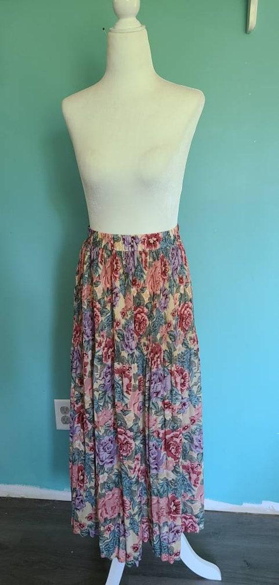 90s sheer cottagecore skirt, boho, hippie, vintage