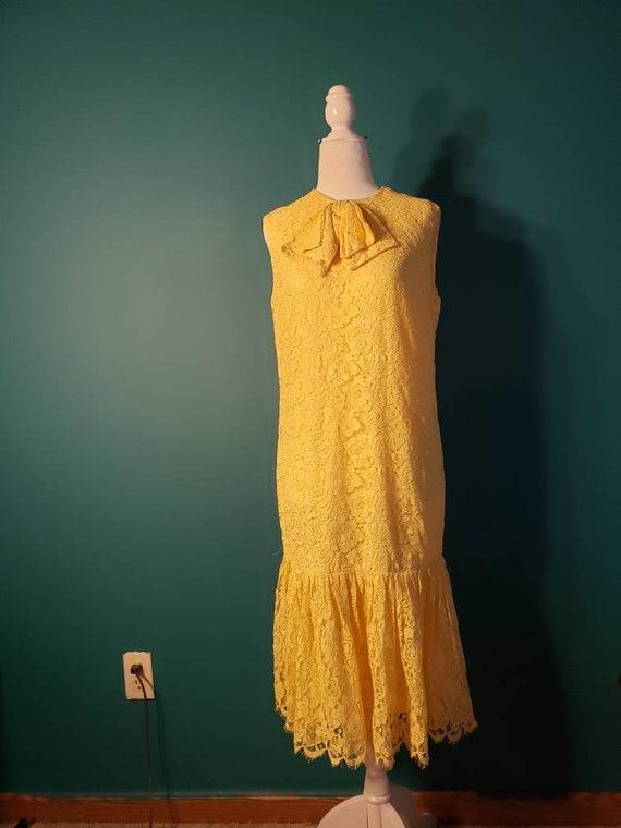 20s style flapper dress, 1960s mod dress, 60s does