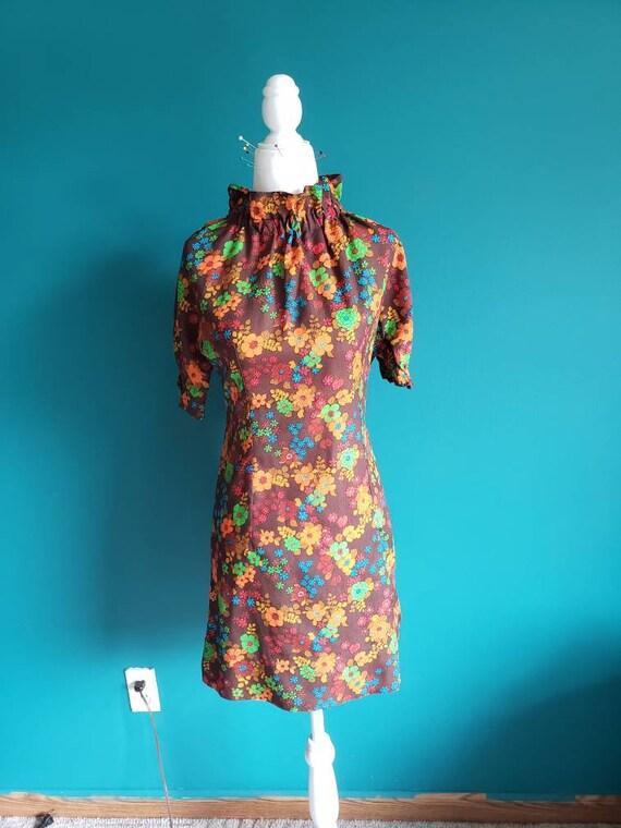 1960s mod mini dress, 60s dress, mini dress, scoot