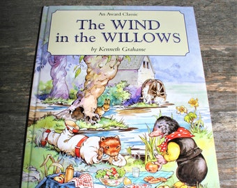 The Wind In The Willows By Kenneth Grahame - Hardcover Children's Book  - An Award Classic