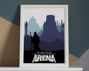 For Him A3 Video Game Art Minimalist For Her Video Game Poster Gaming Gift The Forest Game Poster Print A4