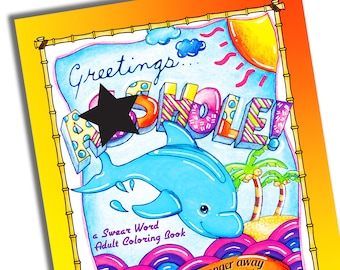 Greetings....A**hole - Swear Word Adult Coloring Book [Printable]