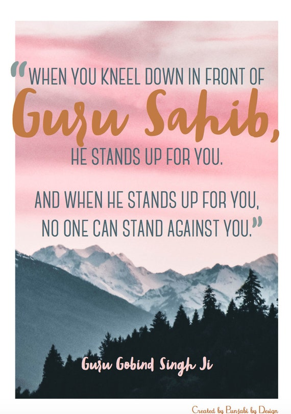 when you kneel down poster inspiring quote
