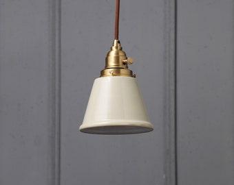"""Standard Dome 16/"""" Industrial Lighting Fixture Beige"""