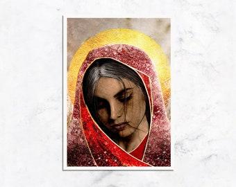 Saint Mary Magdalene Prayer Card