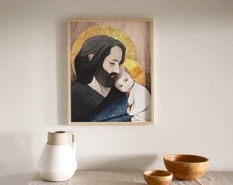 Saint Joseph Print