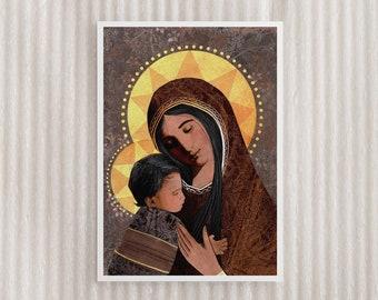 Angelus Holy Card