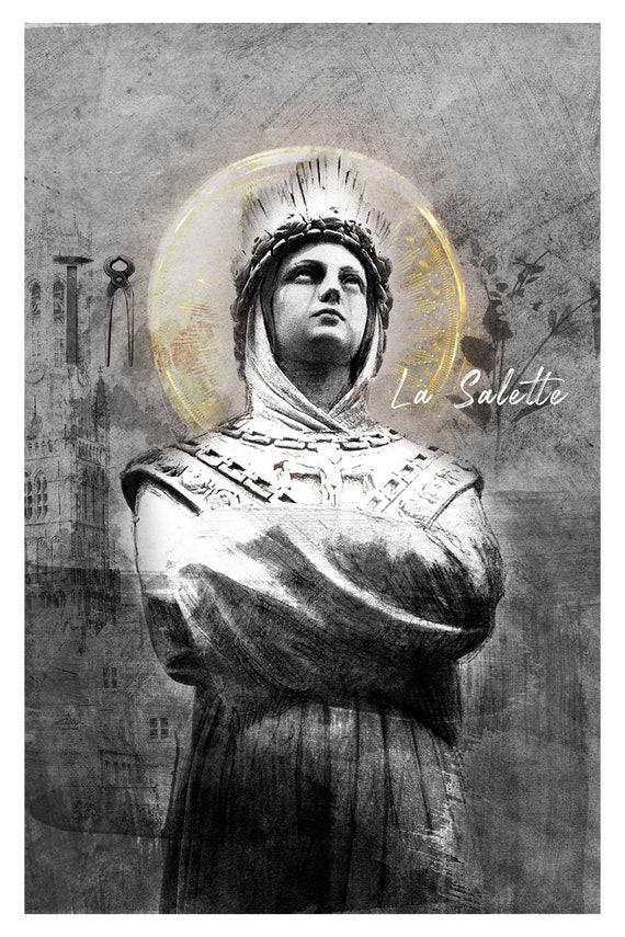 Image result for our lady of lasalette